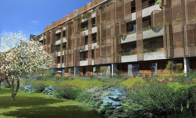Botanica un panorama sur le jardin botanique for Recherche appartement sur bordeaux